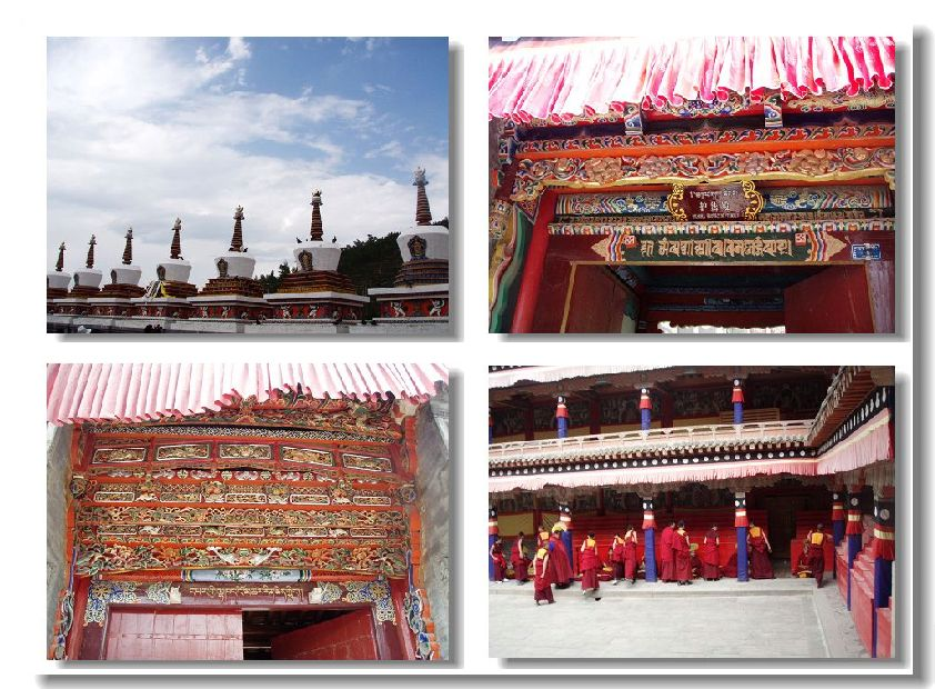 青海塔尔寺 - 圣地游览贴图区